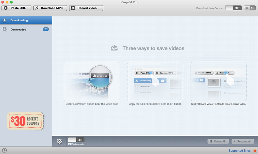 aTube Catcher for Mac-launch keepvid pro
