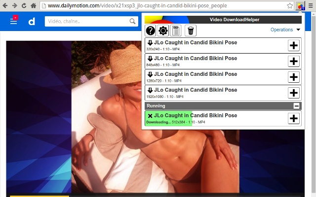 DownloadHelper for Chrome-Video download helper