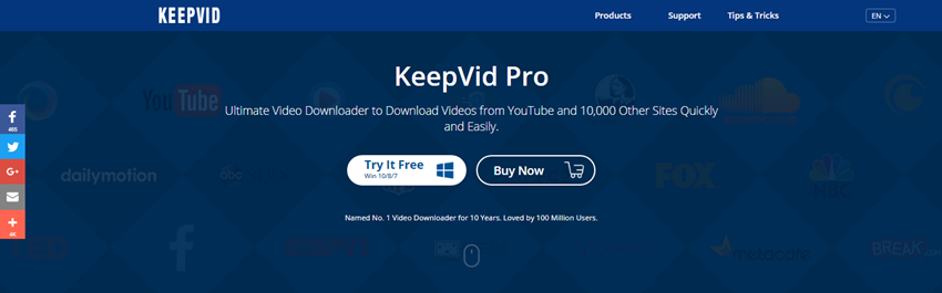 Download video from that video site-with keepvid pro