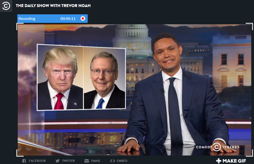 Download Daily Show Videos - recording way step 3