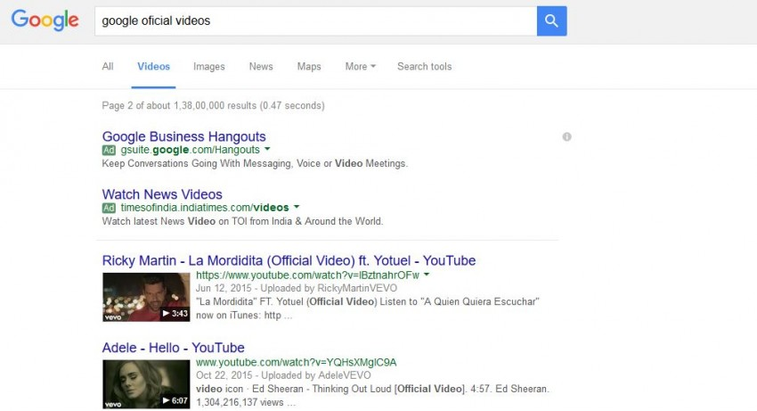 Download Google Videos - old way step 1