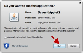 Savevid for Mac Not Working - Reason 2