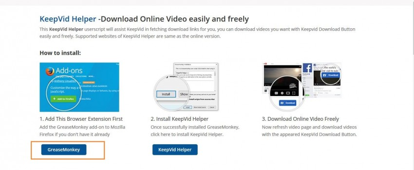 Download Vimeo Video - free ways step 1