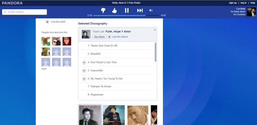 Download Pandora Playlist - Record Music
