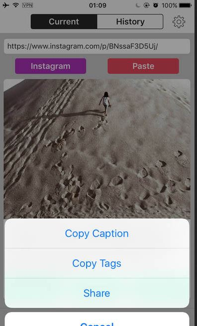 Apps to Save Videos from Instagram - InstaSave