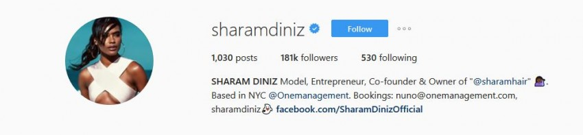 hottest Instagram Accounts - sharamdiniz
