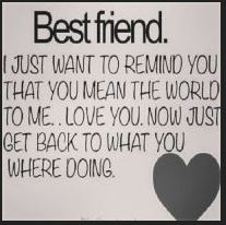 Best Instagram Quotes - I just want to remind you that you mean the world to me