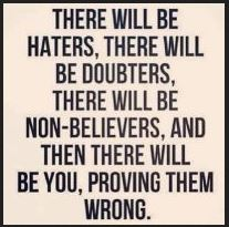Best Instagram Quotes - Then there will be you, proving them wrong