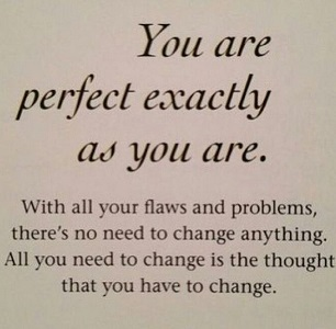 Best Instagram Quotes - You are perfect exactly as you are