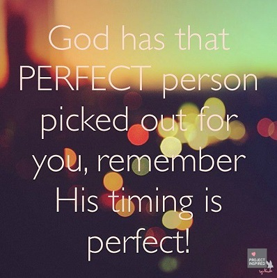 Best Instagram Quotes - God has perfect person