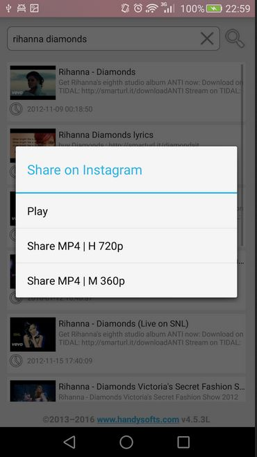 YouTube to Instagram Apps - YouInstaShare