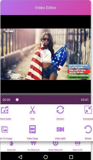 YouTube to Instagram Apps - VidShow: Free Video Editor