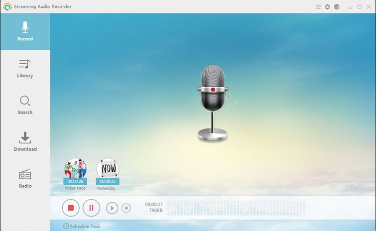 Tumblr Music Downloader - Apowersoft Streaming Audio Recorder
