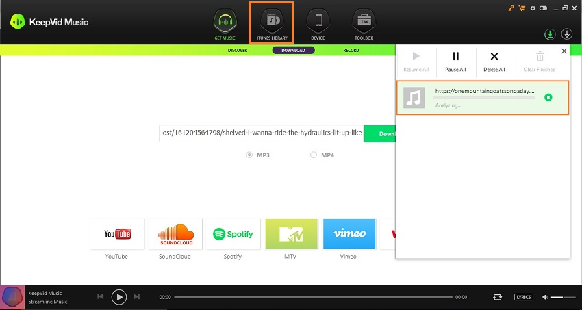 Download MP3 from Tumblr - Locate Downloaded MP3