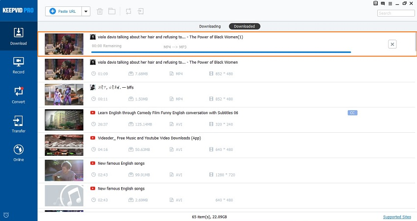 Download MP3 from Tumblr - Finish Downloading Tumblr MP3