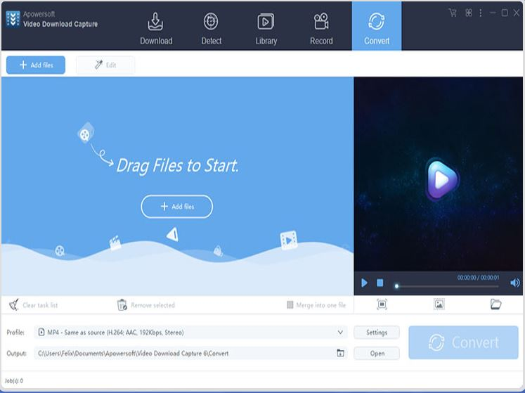 Download Tumblr Videos on iPhone - Apowersoft Video Downloader Capture