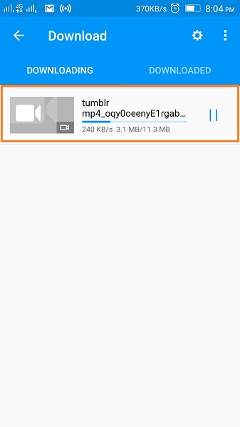 Download Tumblr Videos on Android - Start Downloading Tumblr Video