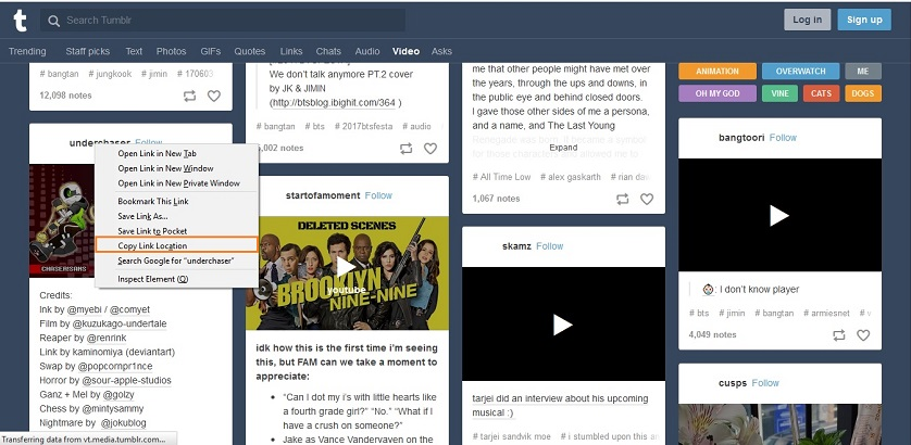 Download Movies from Tumblr - Find Tumblr Video to Download