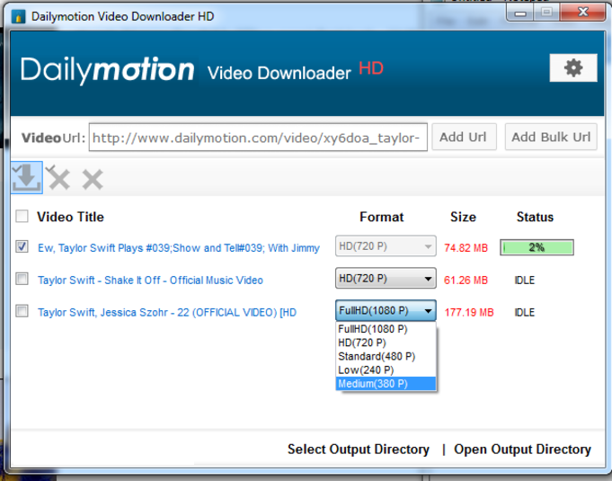 dailymotion downloader - Free Dailymotion Video Downloader