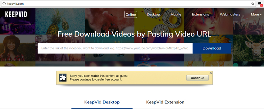dailymotion downloader - KeepVid