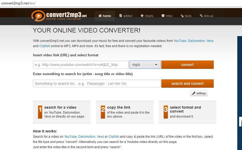 online dailymotion to mp4 converter - Zamzar
