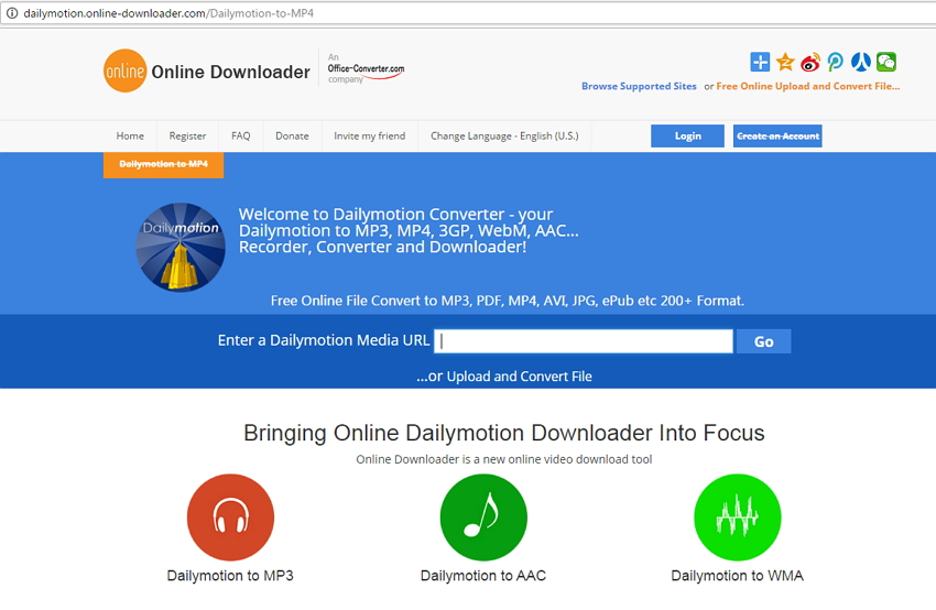 online dailymotion to mp4 converter - Dailymotion to MP4