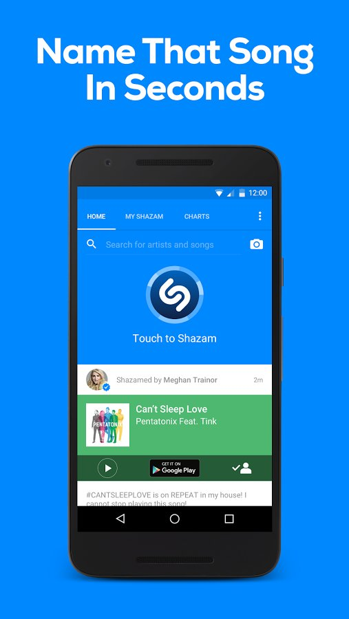 apps like deezer - Shazam