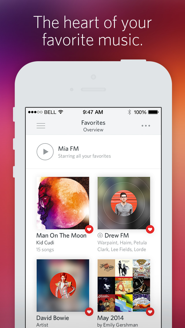 apps like deezer - Rdio Music