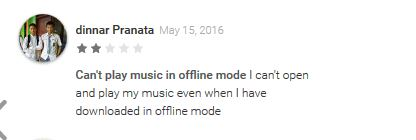 deezer music - Deezer Music player Bad Reviews 2