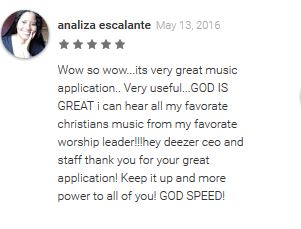 deezer music - Deezer Music Good Reviews 2