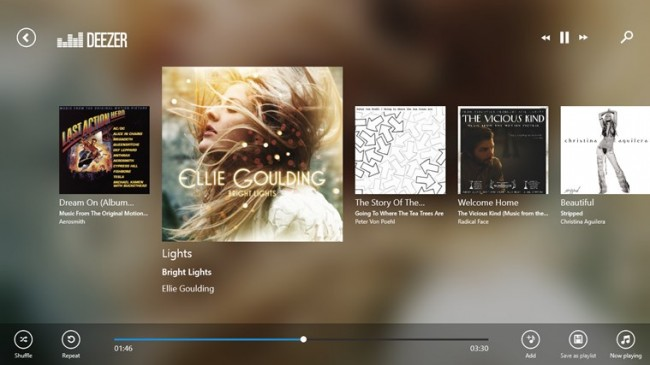 deezer player - Deezer for windows