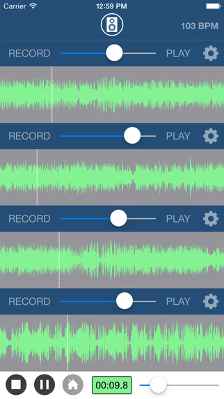 deezer recorder - Multi Track Song Recorder