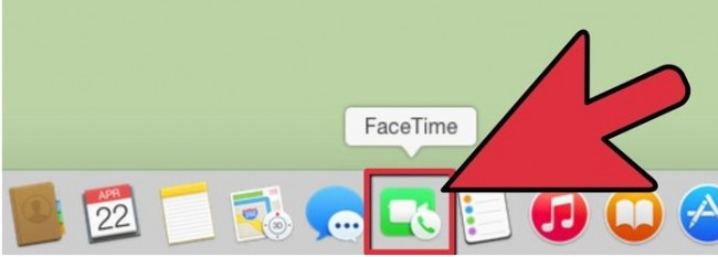 FaceTime from iPhone to Mac - FaceTime on Mac step 1