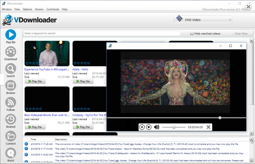 download videojug videos - with Vdownloader