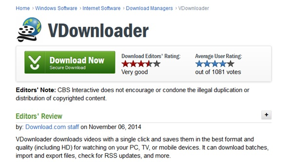download videojug videos - Vdownloader review 1