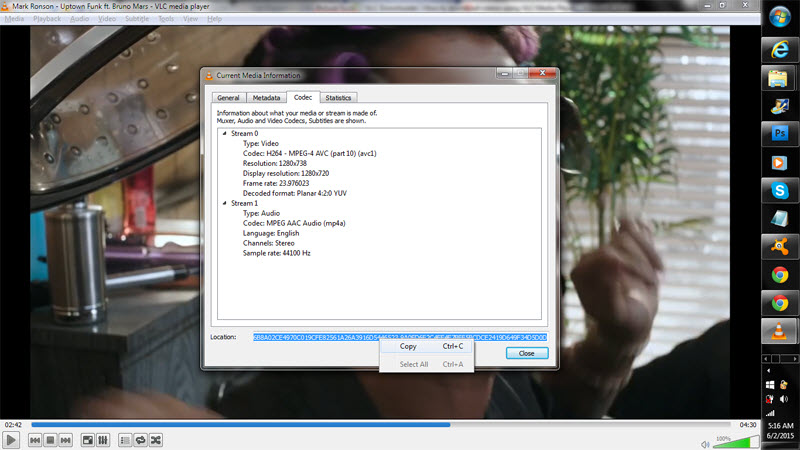 VLC Downloader - Copy Video Link