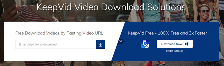 how to download video with keepvid