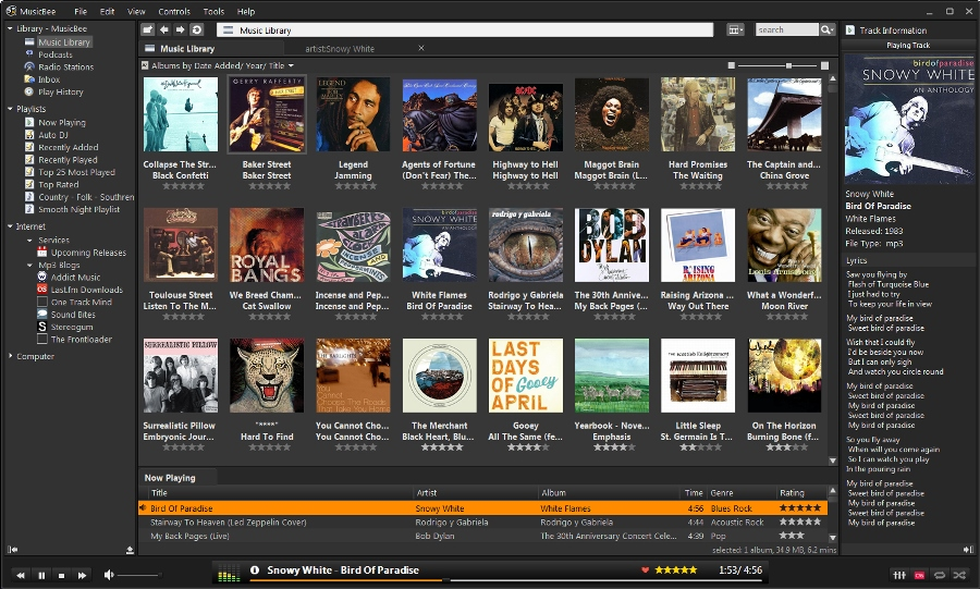 free music player and organizer software Windows