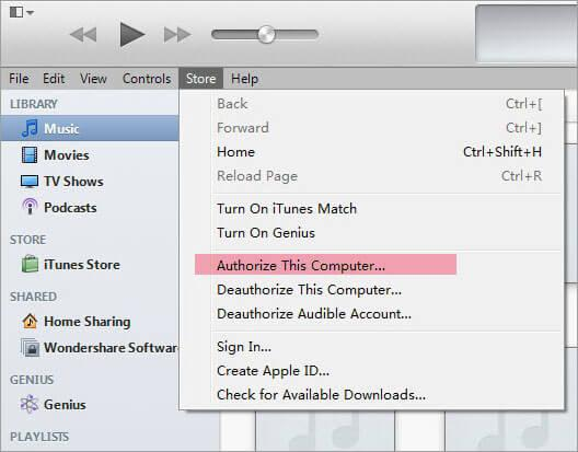 transfer ebooks to itunes