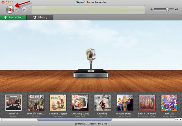 How to download music from itunes radio-iSkysoft Audio Recorder