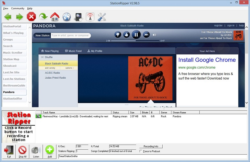 How to download music from itunes radio-StationRipper
