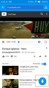 Android App to Download YouTube Videos - Locate YouTube Video to Download
