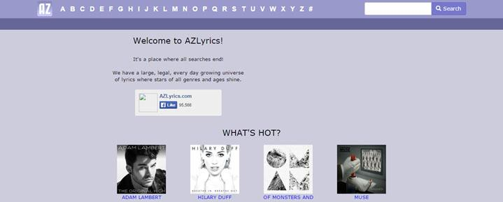 music manager sites for music lyrics free .