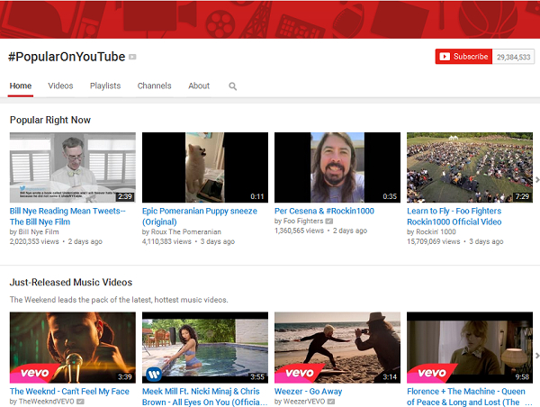 5 ways to download music free - Using YouTube