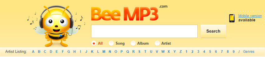 Top 50 Free Music Download Sites - Beemp3