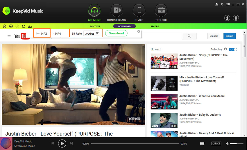 Download music from youtube to your ipod iphone and other devices download music from youtube to ipod download music ccuart Choice Image