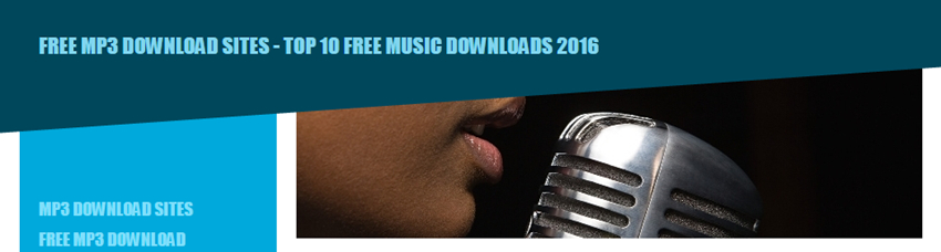 Top 50 Free Music Download Sites - Mp3-downloads.info