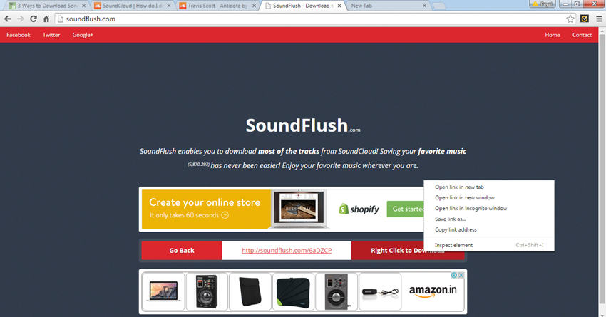 How to get songs downloaded from Soundcloud - Save Music