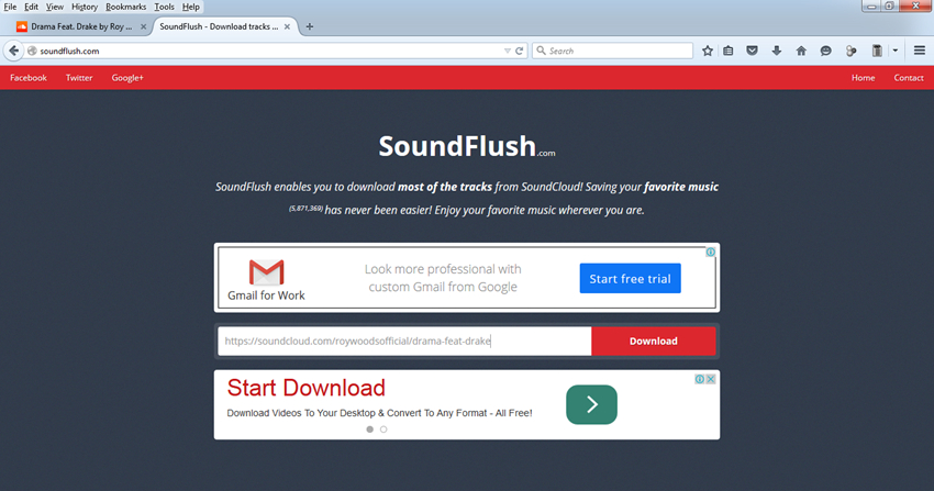 Tips for SoundCloud download Firefox - Download Music