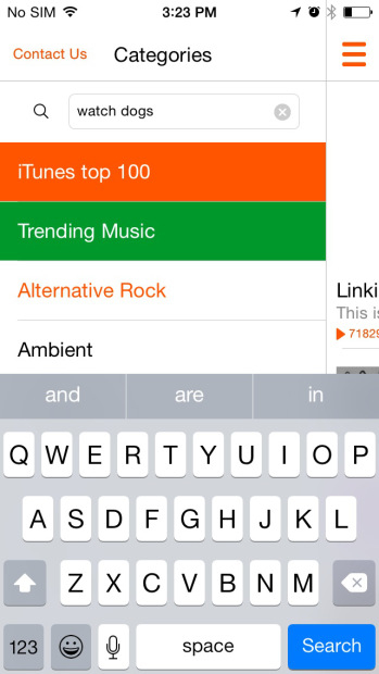 How to Download SoundCloud Songs on iPhone - Search for Music